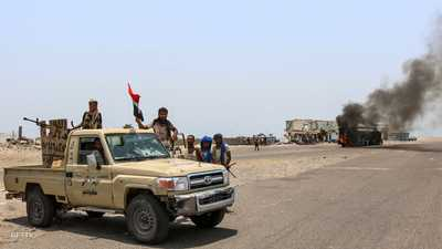 """الحزام الأمني يحرر """"الفاخر"""" من الحوثي"""