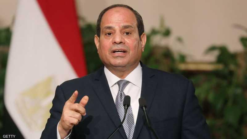 السيسي: يجب وضع حد للتدخلات غير المشروعة في ليبيا 1-1289223.jpg