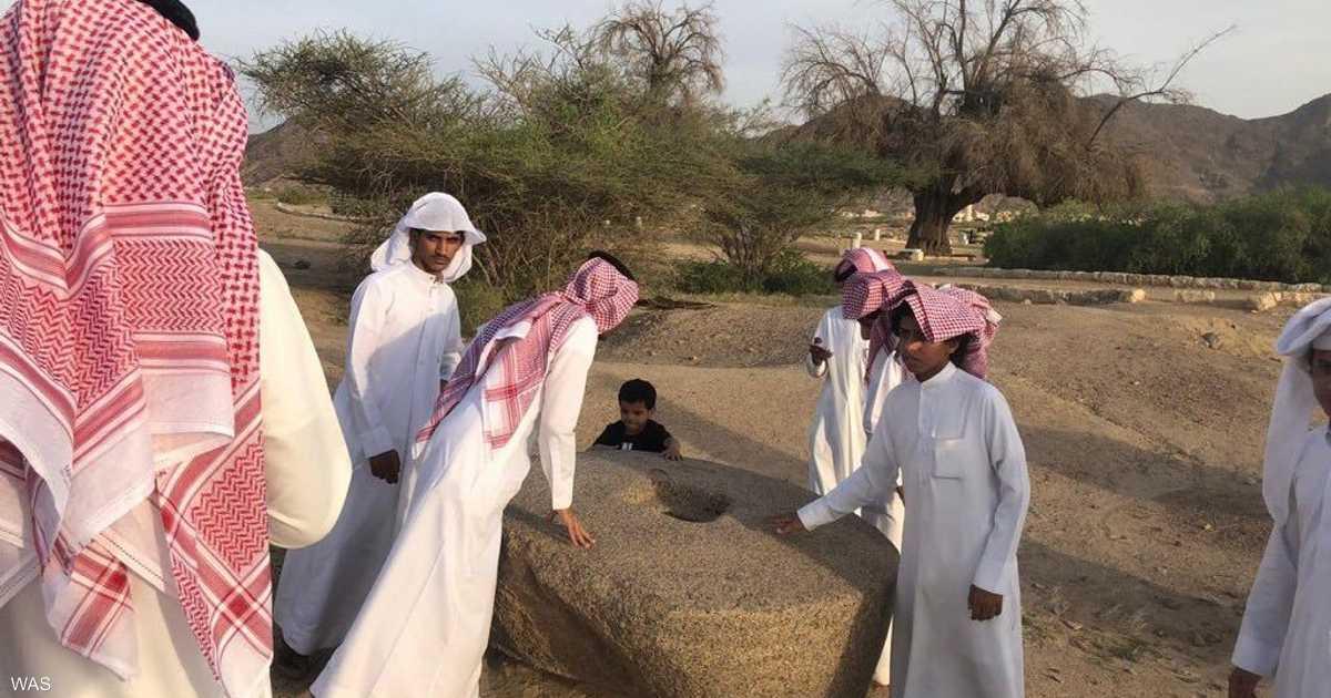 السياحة السعودية تعيد  أصحاب الأخدود  للواجهة   أخبار سكاي نيوز عربية