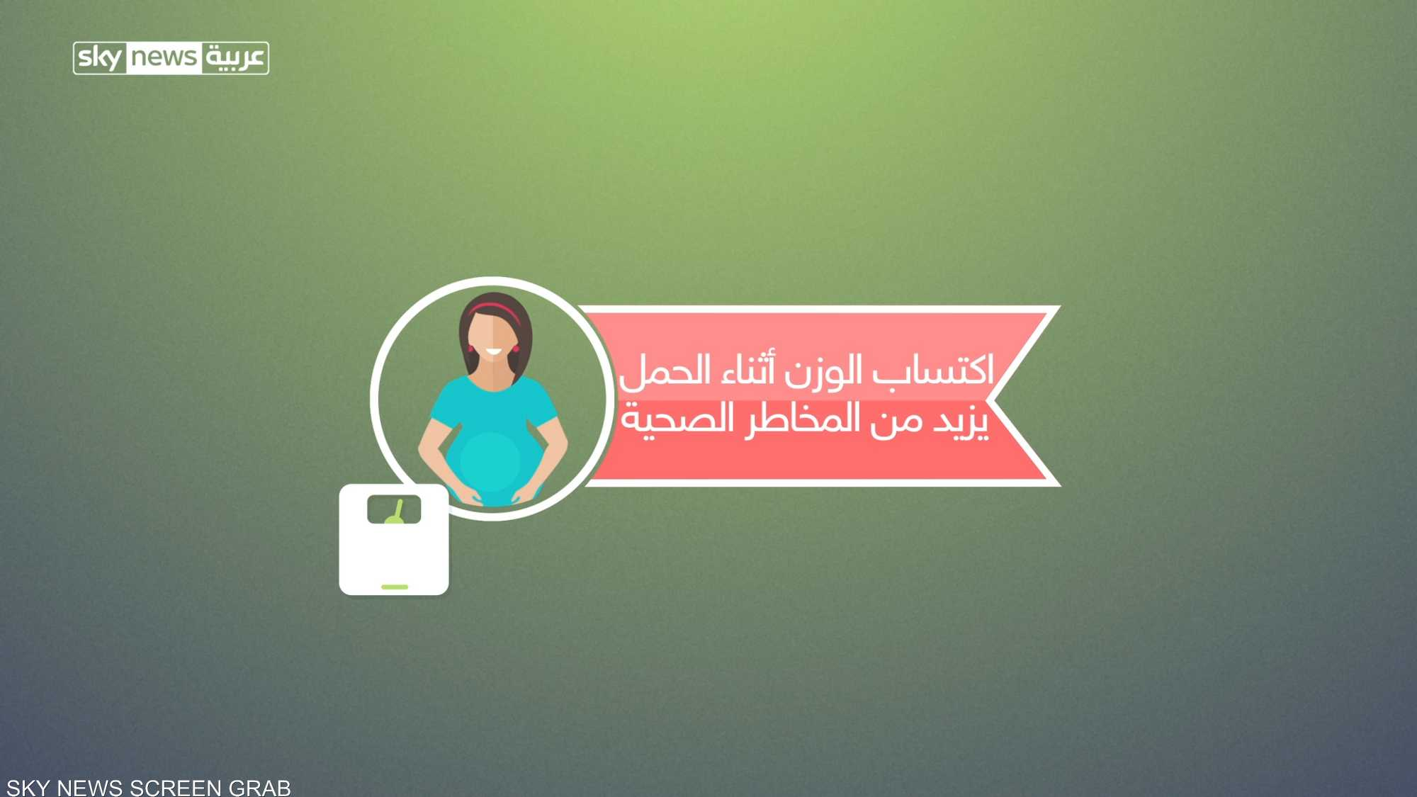 ما سر زيادة الوزن عند الحوامل؟