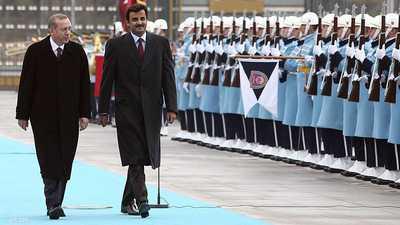 قطر تغرد خارج السرب العربي.. وتدعم الهجوم التركي