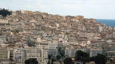 منظر عام للقصبة في العاصمة الجزائر