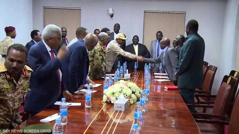 اتفاق لإعلان المبادئ بين الخرطوم والحركات المسلحة