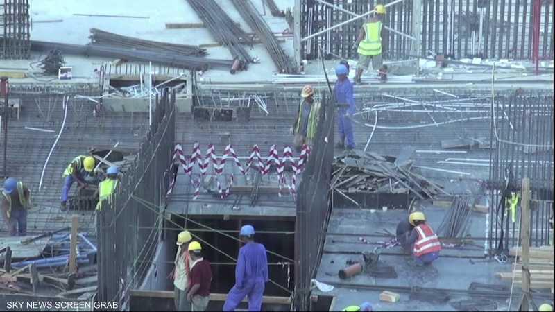 اتهامات دولية لقطر بانتهاك حقوق العمالة الوافدة