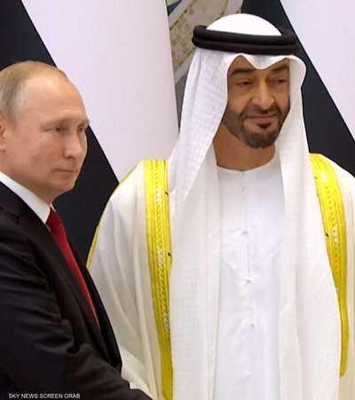 الإمارات تدعم جهود روسيا لتحقيق الاستقرار السياسي