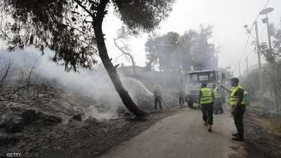 """إخماد معظم حرائق لبنان.. و""""جيوب"""" تهدد بعض المناطق"""