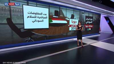 قطار السلام السوداني.. مباحثات جوبا