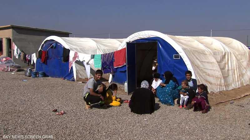 وصول 800 لاجئ كردي سوري إلى حدود دهوك