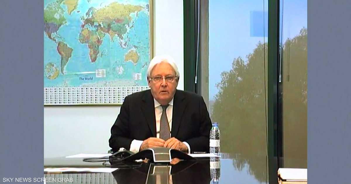 غريفيث يثمن دور ولي العهد السعودي في دعم مسار السلام باليمن