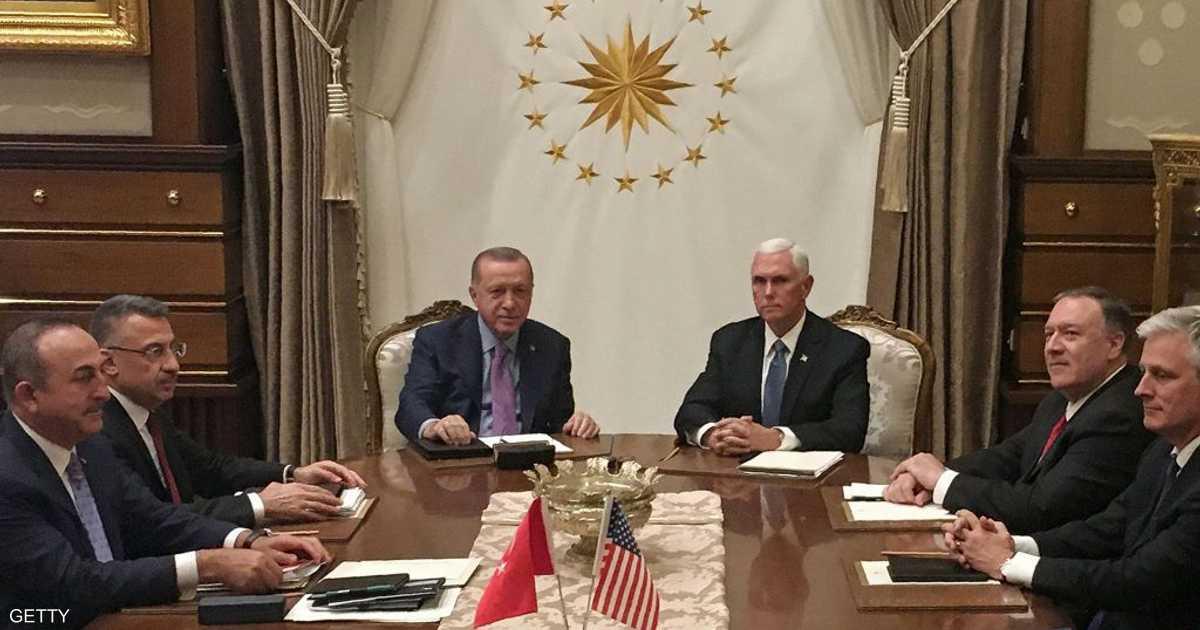 تفاصيل الاتفاق الأميركي التركي لإنهاء غزو شمال سوريا   أخبار سكاي نيوز عربية