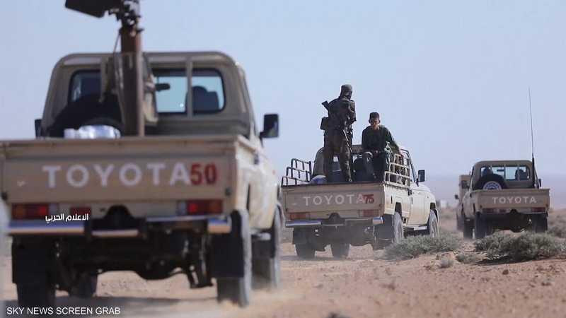 ليبيا.. الجيش الوطني يدمر مخزن أسلحة تركية بمصراتة