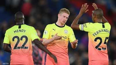 مانشستر سيتي يقلّص الفارق مع متصدر الدوري الإنجليزي بفوز سهل