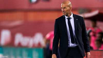 زيدان يعلّق على هزيمة ريال مدريد الأولى بالليغا