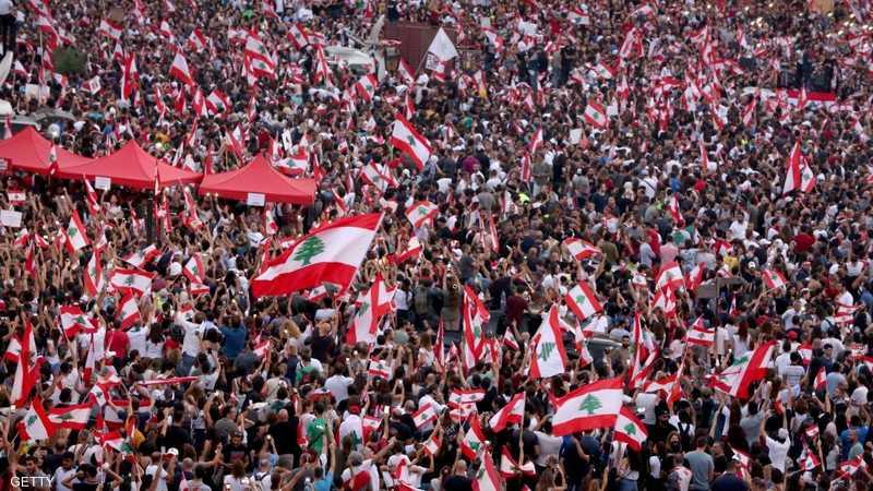التظاهرات تعم لبنان من الشمال إلى الجنوب