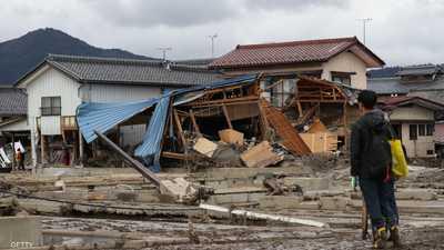 اليابان تحذر من انهيارات طينية بسبب أمطار غزيرة