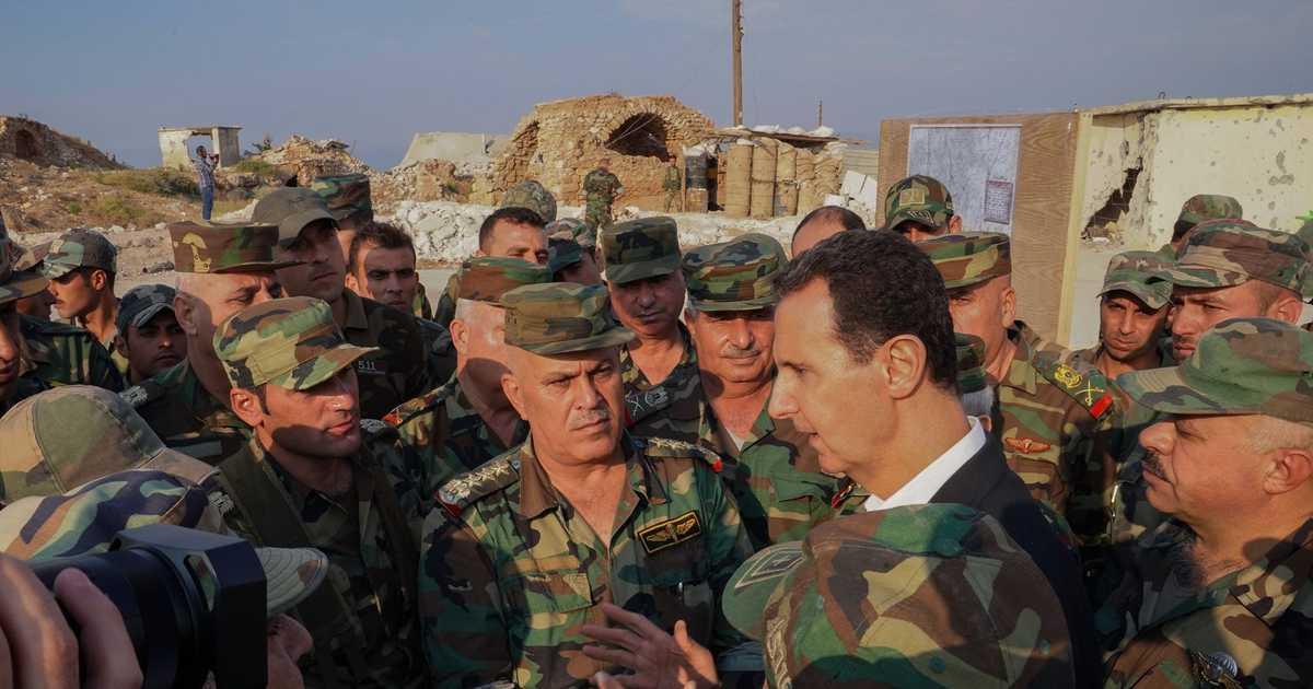 الأسد: معركة إدلب هي  الأساس  لحسم الحرب في سوريا   أخبار سكاي نيوز عربية