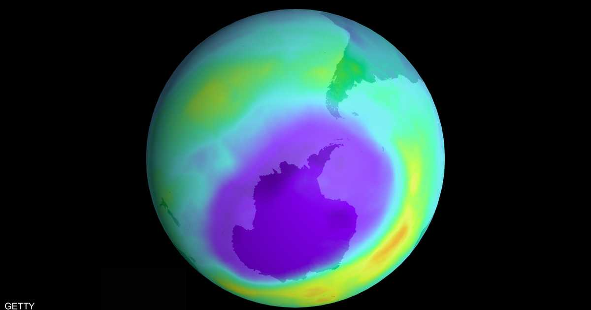 ناسا: ثقب الأوزون في القطب الجنوبي الأصغر منذ اكتشافه