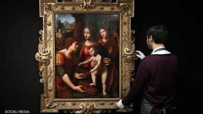 """للبيع.. """"تحفة فنية"""" لأحد تلاميذ دا فينشي"""