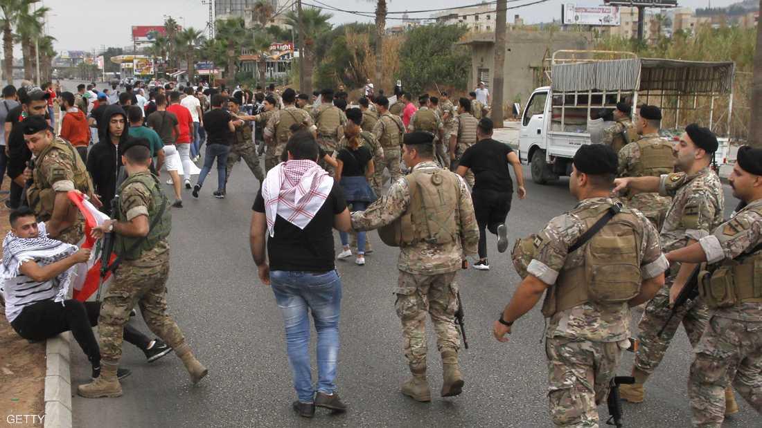 صورة أرشيفية لعناصر من الجيش اللبناني