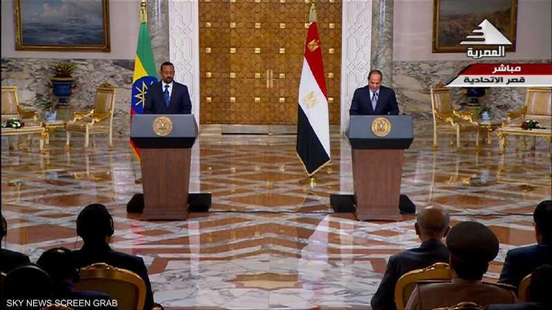 قمة مصرية إثيوبية في سوتشي لبحث قضية سد النهضة