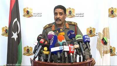 """الجيش الليبي يرحب بوقف القتال لـ""""أغراض إنسانية"""""""