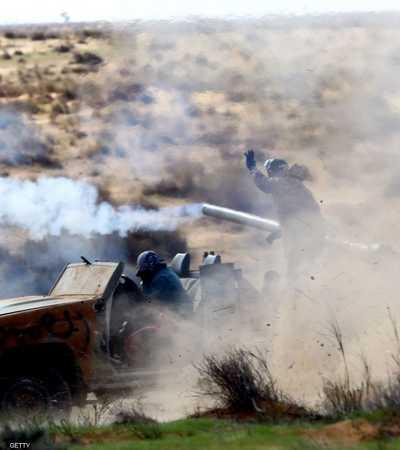 مسلحون تابعون لميليشيا طرابلس