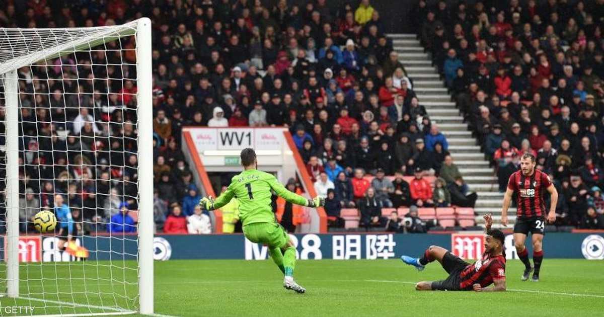 """بورنموث يعيد مانشستر يونايتد إلى """"خيبة السقوط"""""""