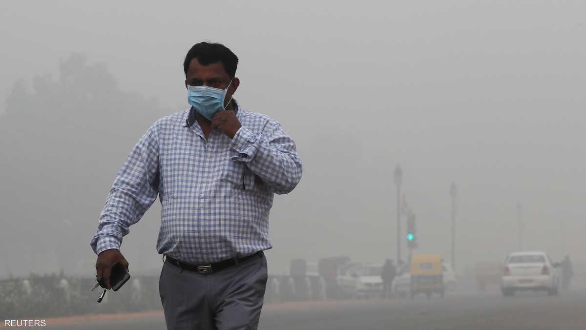 تسبب تلوث الهواء بـ1,2 مليون حالة وفاة مبكرة في الهند