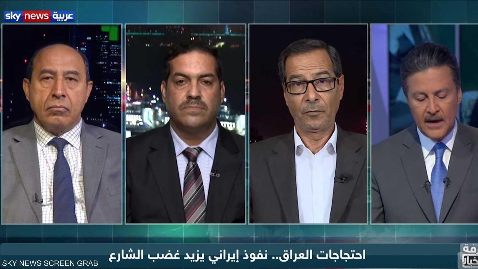 احتجاجات العراق.. نفوذ إيراني يزيد غضب الشارع