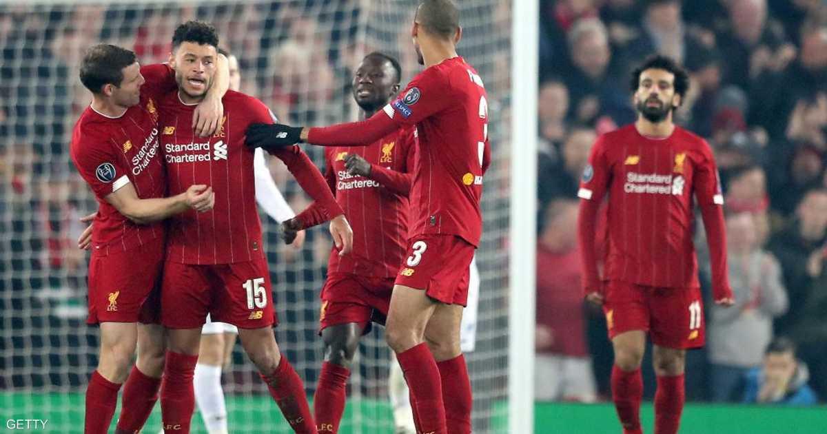 تشامبرلين يهدي ليفربول الفوز على جنك