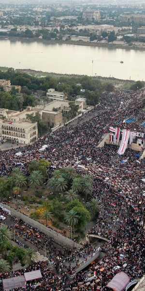 الاحتجاجات في العراق مستمرة منذ أكثر من شهر.