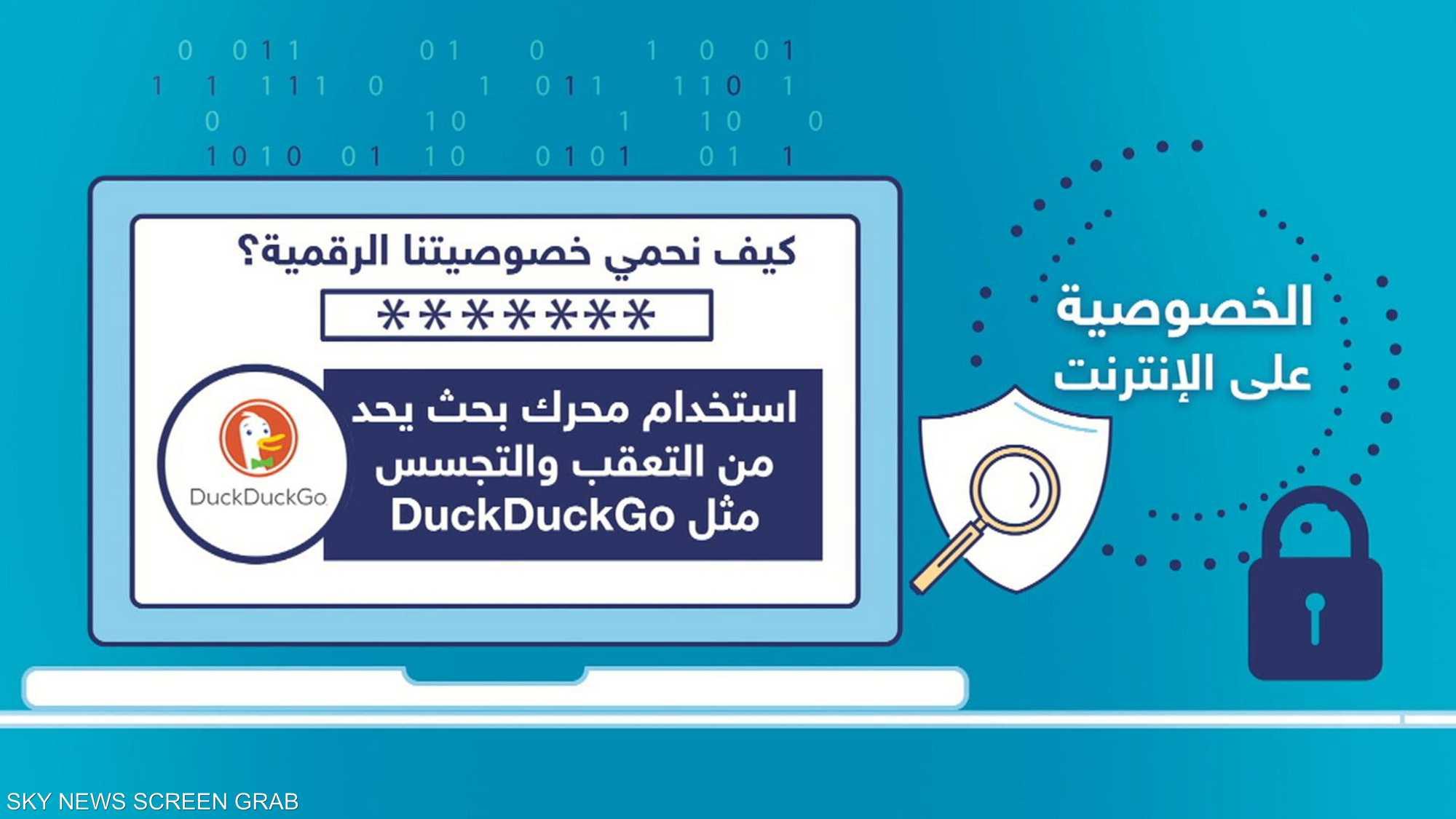 حماية البيانات الشخصية بخطوات بسيطة