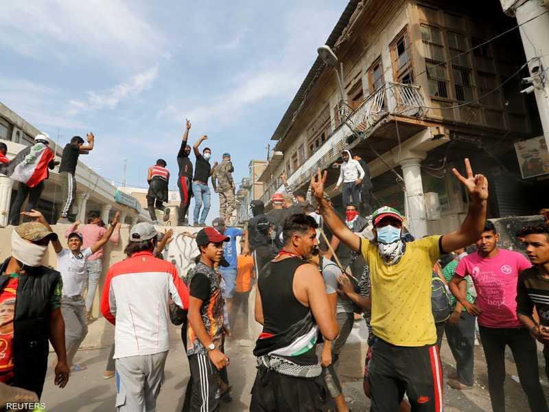يشهد العراق حركة احتجاجية مناهضة للحكومة.
