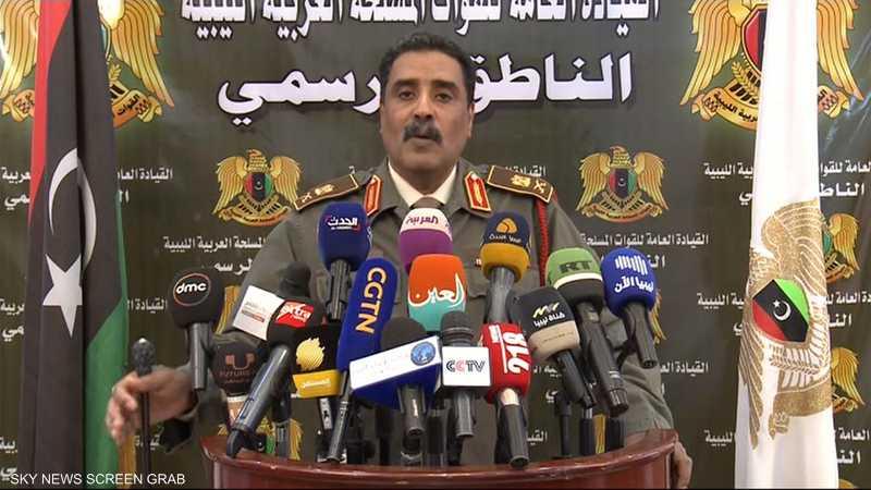 المسماري: دول أجنبية تدعم وتسلح ميليشيات تقاتل الجيش الليبي