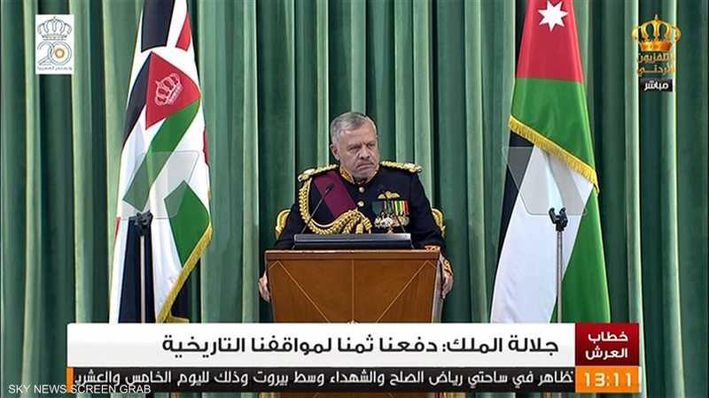 عبدالله الثاني: الأردن يمضي بخطى ثابتة نحو مستقبل واعد