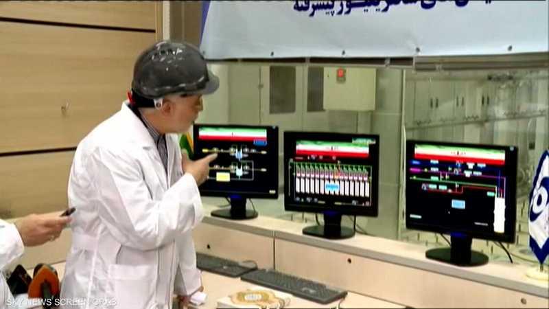 بدء صب الخرسانة في مفاعل بوشهر الثاني بحضور رسمي