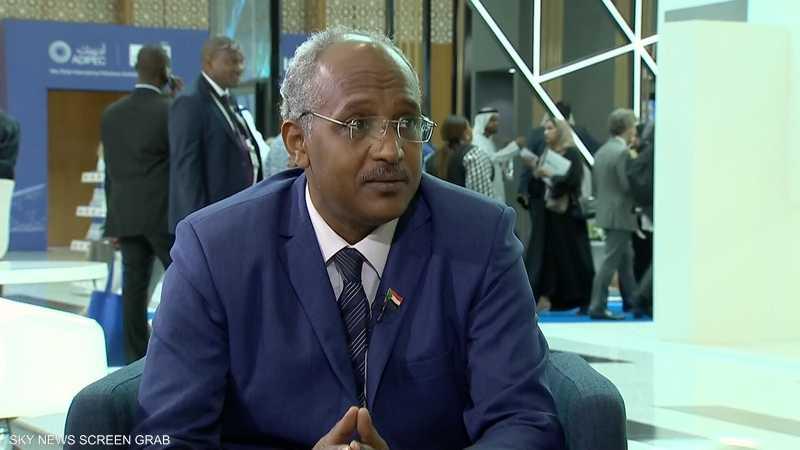 وكيل وزارة الطاقة والتعدين في السودان حامد سليمان