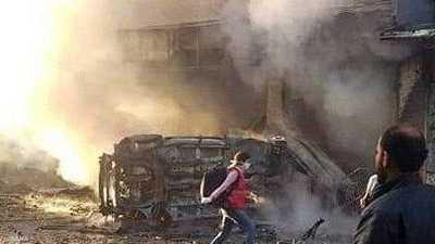 صور.. قتلى وجرحى بتفجيرات تهز القامشلي شمال شرقي سوريا