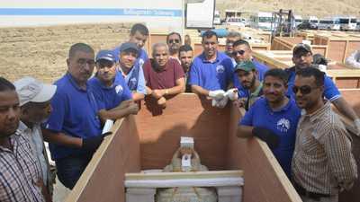 """مصر تنقل مومياوات """"خبيئة العساسيف"""" إلى المتحف الكبير"""