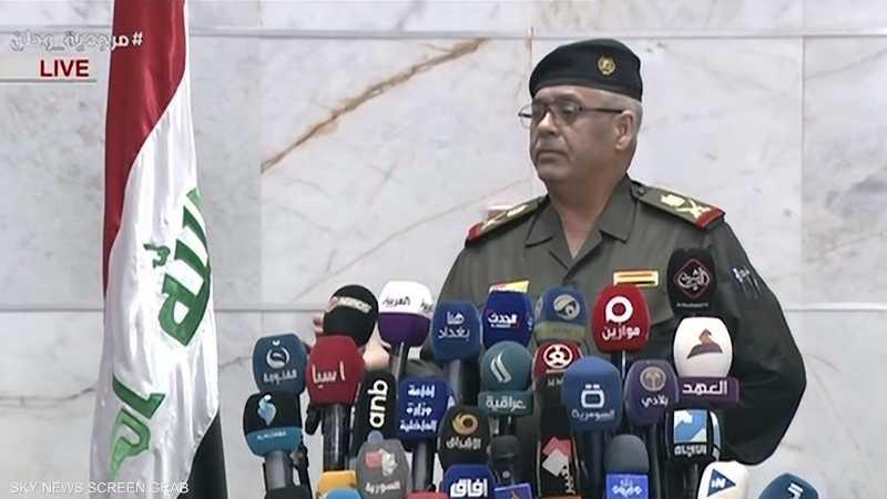 الجيش العراقي: لا تأثيرات قاتلة للغاز المسيل للدموع