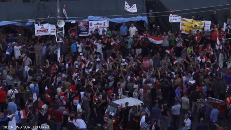 تجدد التظاهرات الاحتجاجية في بغداد
