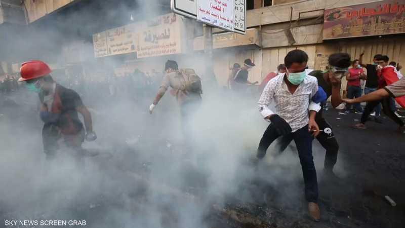 ضحايا جدد بتظاهرات بغداد