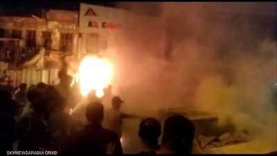انفجار عبوة ناسفة وسط بغداد.. ومقتل متظاهرين