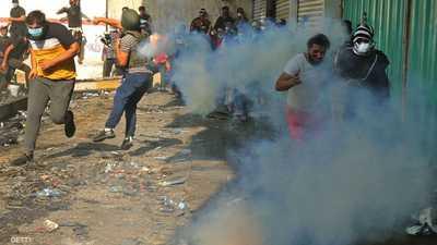 """العراق.. استمرار التظاهرات رغم محاولات الترهيب من """"طرف ثالث"""""""