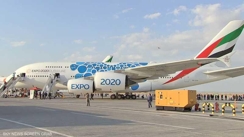 من معرض دبي للطيران