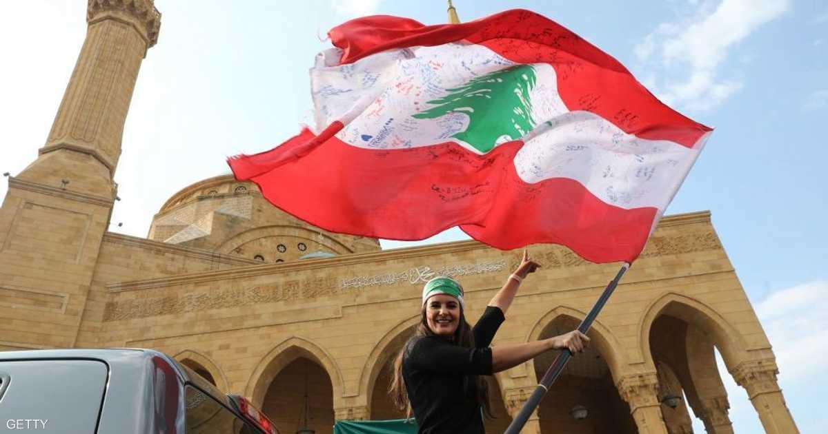 المحتجون في لبنان يحاولون منع انعقاد جلسة للبرلمان
