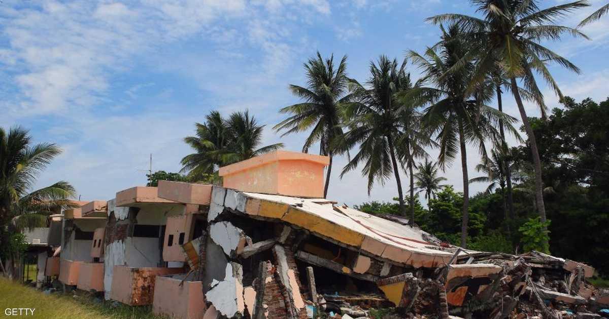 زلزال قوي يضربمناطق جنوبي المكسيك   أخبار سكاي نيوز عربية