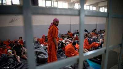 """مقاتلين من """"داعش"""" محتجزين في سوريا"""