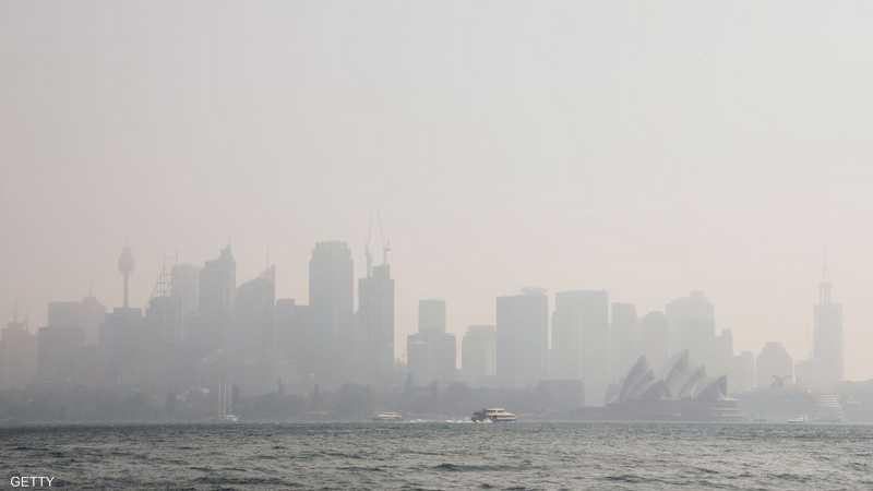 سيدني.. تلوث غريب على المدينة الجميلة
