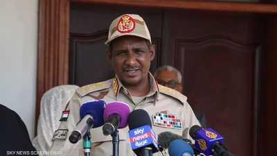 دقلو ترأس وفد الحكومة السودانية